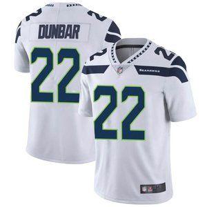 Seahawks Quinton Dunbar White Jersey